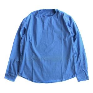ルーマニア軍放出スリーピングシャツ サックス 未使用デットストック S相当 - 拡大画像