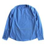 ルーマニア軍放出スリーピングシャツ サックス 未使用デットストック M相当