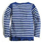 フランス軍ボーダーTシャツレプリカ ブルー×ホワイト 86(S)サイズ