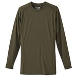 J..S.D.F(自衛隊)吸汗速乾UVカットコンプレッション長袖Tシャツ OD M