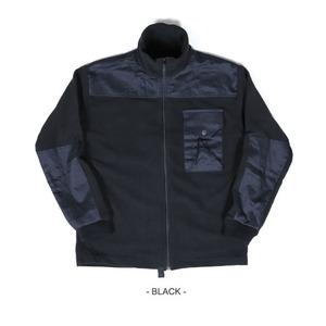 カナダ軍IECS(改良型環境服装システム)フリースジャケットレプリカ ブラック L - 拡大画像