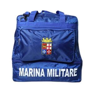イタリア海軍放出 M.M.Iスポーツ ボストンバック 80L容量 未使用 デットストック D - 拡大画像