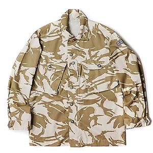 イギリス軍放出 デザートDP Mシャツ デッドストック 未使用 180サイズ - 拡大画像