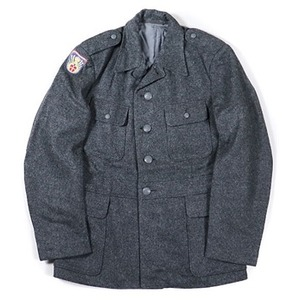 デンマーク軍放出 ウールジャケット デッドストック 未使用 110 - 拡大画像
