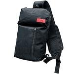 バッグに入れたままスマホが使えるボディバッグ ブラック