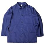 イタリア軍放出 モールスキンワークジャケット デッドストック 未使用 ブルー 48サイズ