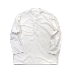 ロシア軍放出 スリーピングシャツ ウィンター ウォッシュ加工 デッドストック 未使用 ホワイト《50(L相当)》 - 拡大画像