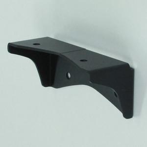 2×4Mate(ツーバイフォーメイト) XBP-510 スター三角ブラケット 黒艶消【2個セット】