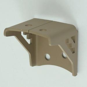 2×4Mate(ツーバイフォーメイト) XBP-660 ネイティブ三角ブラケット ブラウン【2個セット】