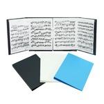 SHIROKUMA リング楽譜ファイル ブラック【1冊】
