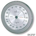 丸型精密温湿度計 EX-2737