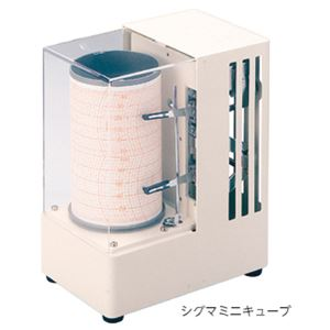 小型記録温湿度計 シグマミニキューブ - 拡大画像