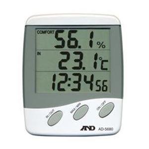 デジタル温湿度計(外部センサ付) AD-5680 - 拡大画像