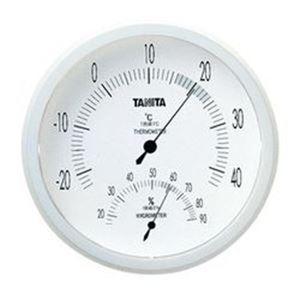 (まとめ)温湿度計 TT-492(Nホワイト) 【×5セット】 - 拡大画像