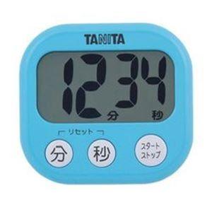 (まとめ)デジタルタイマー TD-384-BL(青) 【×5セット】 - 拡大画像