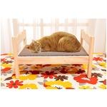 ペット用木製ベッド 2個組