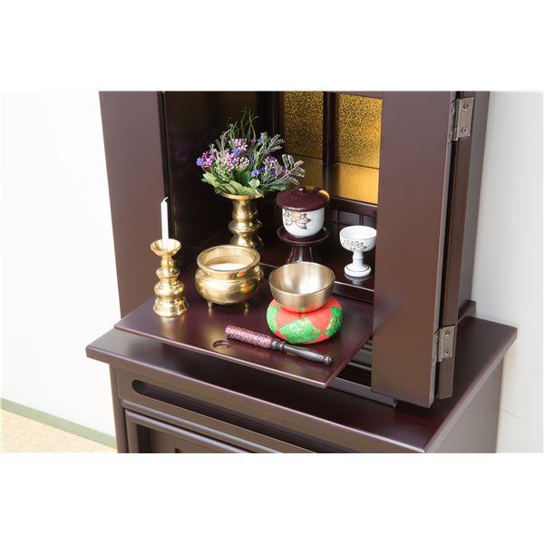 タンスやチェストなどの上にも置けるミニタイプの本格「上置き仏壇 14号」