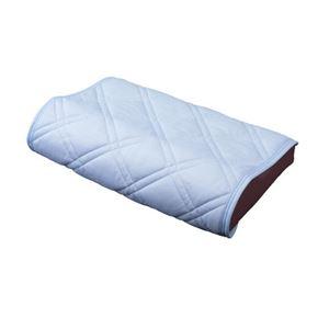 【クール スコール】テイジン「マイティトップII」使用 ひんやりタッチ軽寝具シリーズ 枕パッド2枚 - 拡大画像