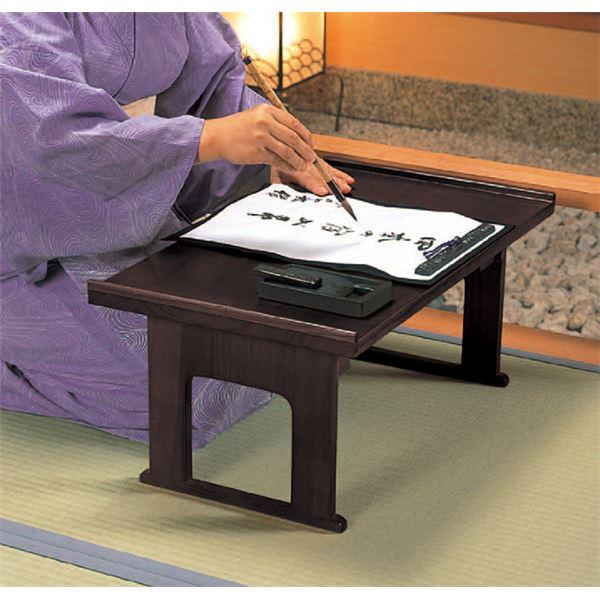 両サイド伸張式の天板が便利な供物台「伸張式供物台」を習字の習い事に