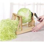 ベジタブルカッター/野菜カッター 【幅28cm】 重さ約1.22kg 日本製 ハンドル式 ステンレス 『ニューキャベック』