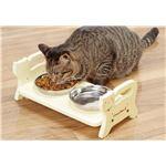 ウッディーダイニング 猫用高さ調節食器台