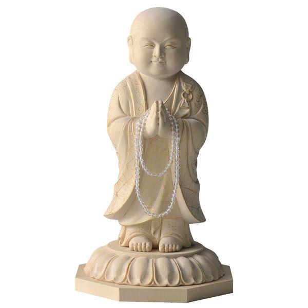 名工による一品仕上げの「微笑み夢叶え地蔵菩薩」