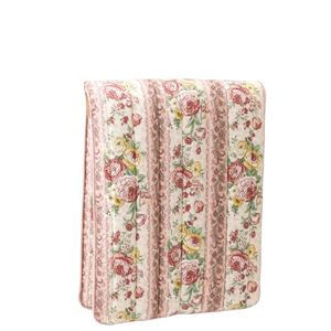 少し小さな軽量3層ボリューム敷布団 【ピンク】 シングル 幅70cm 重さ2.5kg 日本製 綿 ポリエステル製 〔寝室 ベッドルーム〕