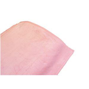 泉大津産ボリュームロング綿毛布ピンク 140×210cm