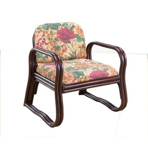 天然籐思いやり座椅子 ミドルタイプ