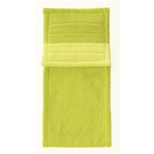 トイレットペーパーホルダーカバー 【グリーン系】 幅約16.5cm 洗える 綿100% 『フレッシュデオ 消臭トイレタリーシリーズ』