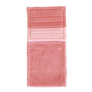 トイレットペーパーホルダーカバー 【ピンク系】 幅約16.5cm 洗える 綿100% 『フレッシュデオ 消臭トイレタリーシリーズ』