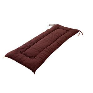 さわやかタオル地ごろ寝長座布団1枚 ブラウン