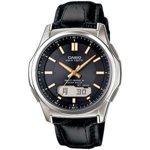 腕時計 電波 ソーラー 紳士用 ウォッチ 黒 WVA‐M630L‐1A2JF - 拡大画像