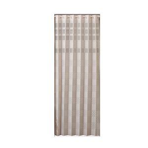 日本製 空気清浄パタパタカーテン 180cm丈 ベージュ - 拡大画像