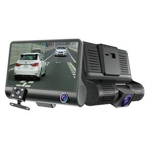 ドラレコ 3画面 同時記録 ドライブレコーダー 駐車監視モード付 - 拡大画像