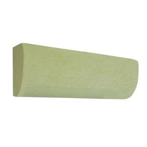 エアコン カバー ストレッチ エアコンカバー グリーン 幅70〜85cm 洗える 縦横 ストレッチ 同色2枚組 - 拡大画像