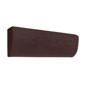エアコン カバー ストレッチ エアコンカバー ブラウン 幅70〜85cm 洗える 縦横 ストレッチ 同色2枚組 - 拡大画像