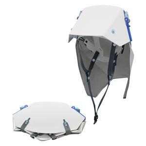 防災ズキン付き折りたたみ式ヘルメット タタメットズキン3 - 拡大画像