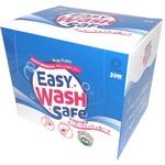 イージーウォッシュセーフ 洗剤付き家庭用クリーニングシート 30枚入ボックス【×5箱セット】