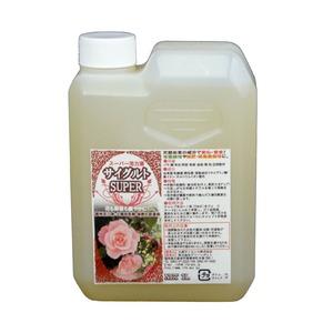 園芸用 活力液 (土壌改良剤/堆肥化促進剤) 【1L】 日本製 『サイグルト SUPER』 〔ガーデニング用品 庭用品〕 - 拡大画像