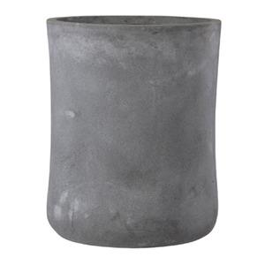 ファイバークレイ製 軽量植木鉢 バスク ミドル 44cm グレー - 拡大画像