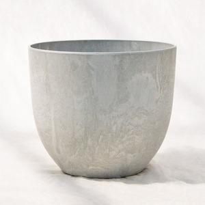 植木鉢 鉢カバー  アートストーン ボーラカバー 33cm 11号 サンドストーン /底面給水型 穴無し