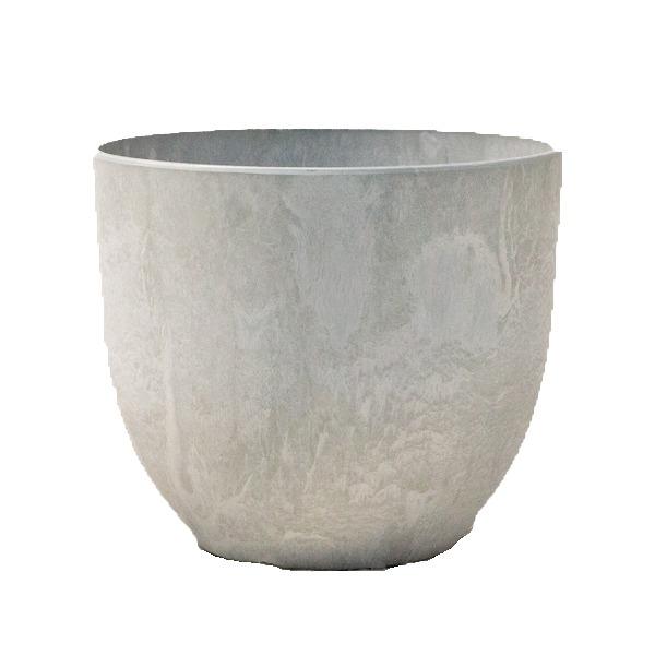 植木鉢 鉢カバー  アートストーン ボーラカバー 38cm 13号 サンドストーン 穴無し