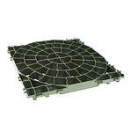 砂利の固定 芝生の保護枠 プラトプラティコ グリーン 50x50cm