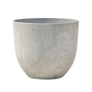 【5個入り】植木鉢 鉢カバー  アートストーン ボーラカバー 28cm 9号 サンドストーン 穴無し - 拡大画像