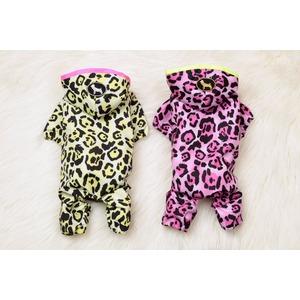 Leopard Rain Coat L ( Pink) - 拡大画像