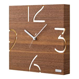 掛時計 YK09-104(ウォールナット) - 拡大画像