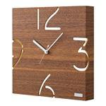 掛時計 YK09-104(ウォールナット)