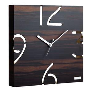 掛時計 YK09-104(黒檀) - 拡大画像