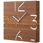 掛時計(ウォールナット) YK09-104